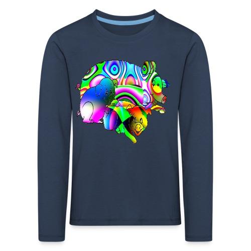 Les cochons - T-shirt manches longues Premium Enfant