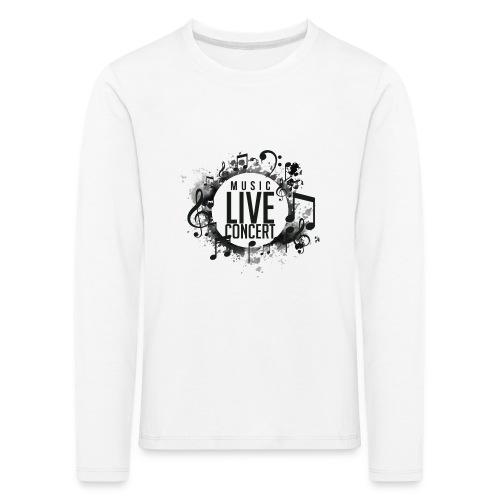 musica - Camiseta de manga larga premium niño