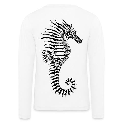 Alien Seahorse Invasion - Kids' Premium Longsleeve Shirt