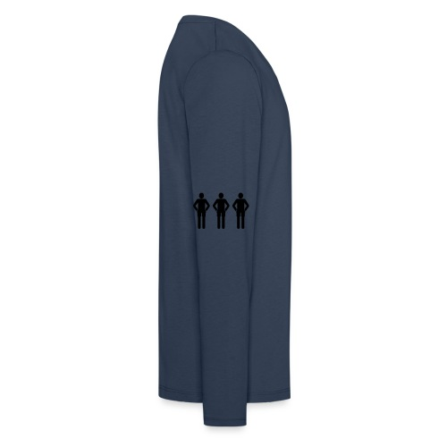 3schwarz - Kinder Premium Langarmshirt