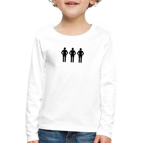 T-Shirt - Kinder Premium Langarmshirt