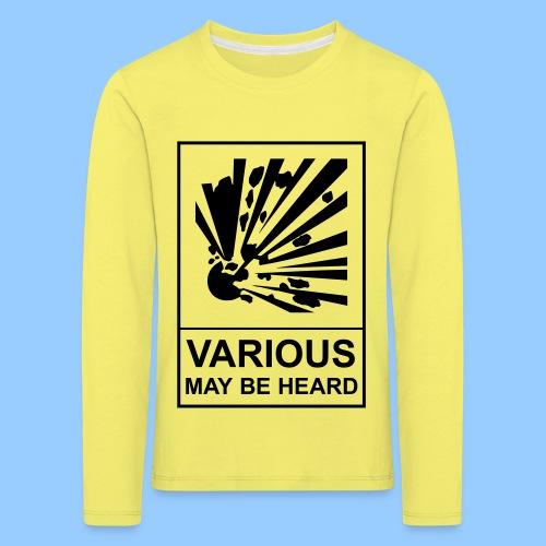 VariousExplosions (1 colour) - Kids' Premium Longsleeve Shirt