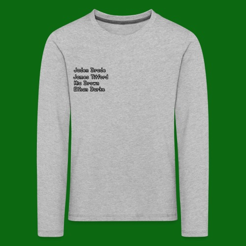 Glog names - Kids' Premium Longsleeve Shirt