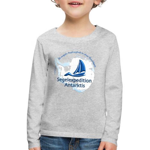 segelexpedition antarktis3 - Kinder Premium Langarmshirt