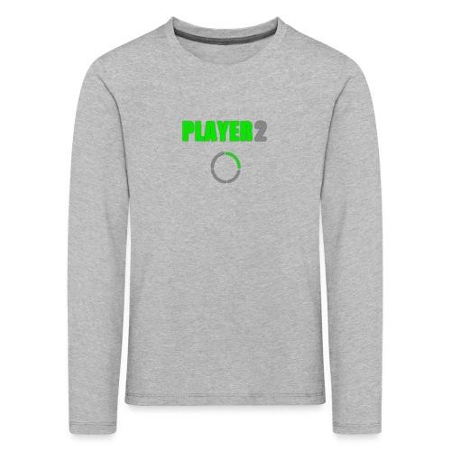 PLAYER 2 Videojuegos - Camiseta de manga larga premium niño