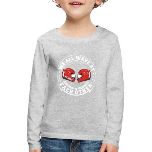 WE ALL WAVE - BLANC - T-shirt manches longues Premium Enfant