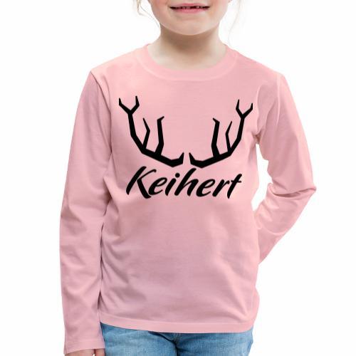 Keihert gaan - Kinderen Premium shirt met lange mouwen