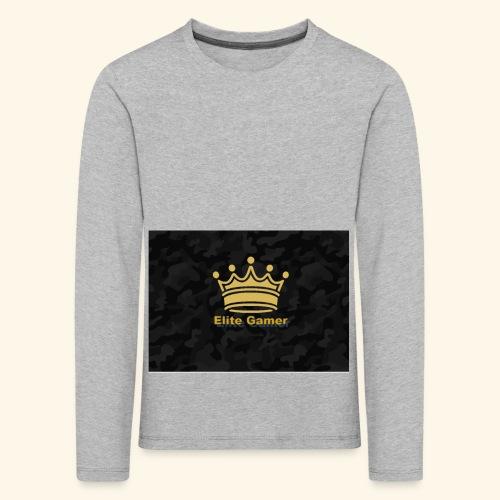youtube design - Kids' Premium Longsleeve Shirt