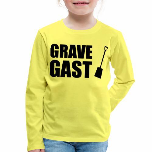 Grave gast - Kinderen Premium shirt met lange mouwen