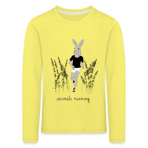 Lièvre running - T-shirt manches longues Premium Enfant