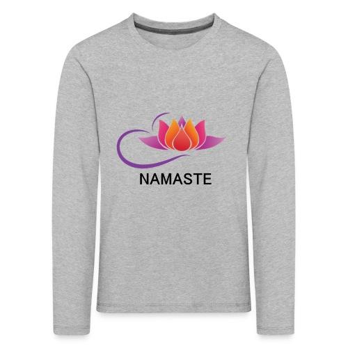 NAMASTE - Camiseta de manga larga premium niño