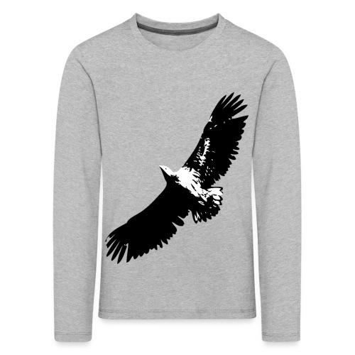 Fly like an eagle - Kinder Premium Langarmshirt