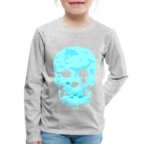 Dead Sea Tshirt ✅ - Kinder Premium Langarmshirt