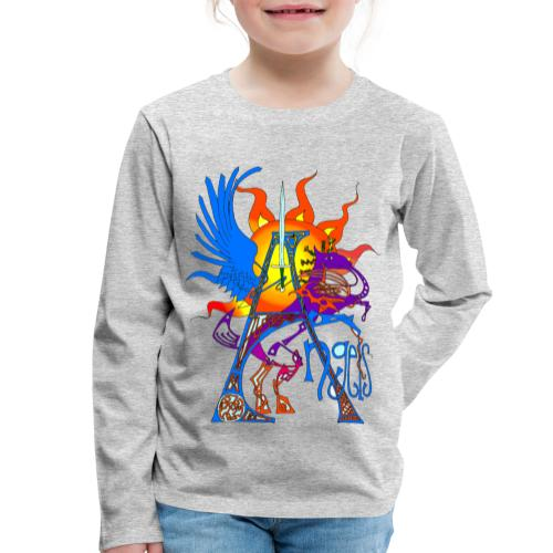 Angel Messenger - Kids' Premium Longsleeve Shirt