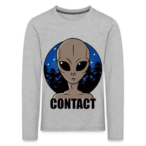 Contact Extraterrestre - T-shirt manches longues Premium Enfant