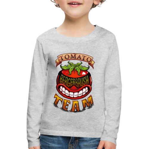 Tomato Team - Långärmad premium-T-shirt barn