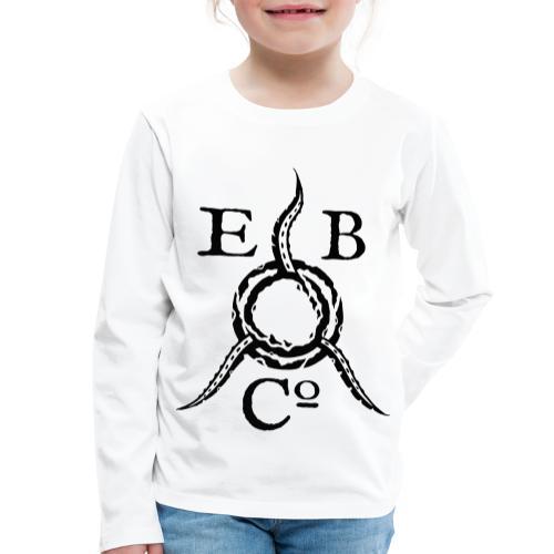 Eldritch Brothers Co. Logo - Lasten premium pitkähihainen t-paita