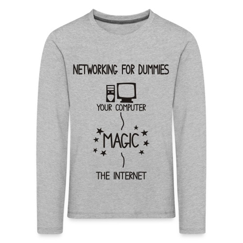 Network Schematic for Dummies - Kids' Premium Longsleeve Shirt
