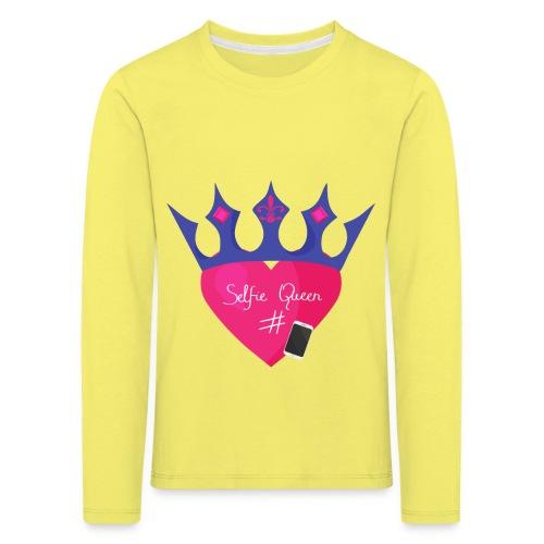 Humor Crown for real social media queens. - Kids' Premium Longsleeve Shirt