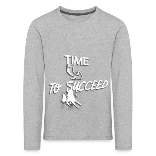 Het tijd - Kinderen Premium shirt met lange mouwen