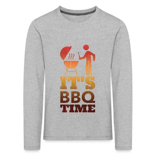 It's BBQ Time - Kinderen Premium shirt met lange mouwen