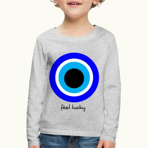 luck eye - Kinderen Premium shirt met lange mouwen