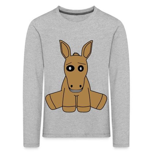 horse - Maglietta Premium a manica lunga per bambini