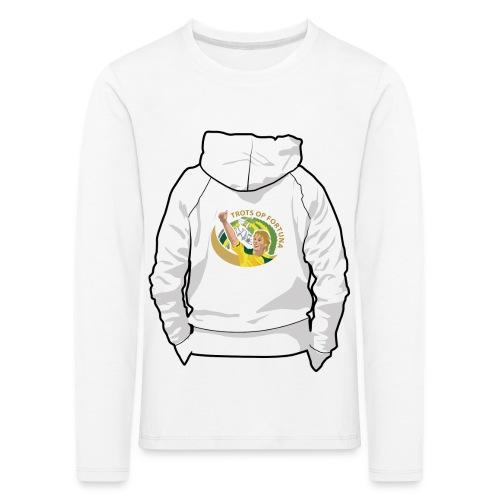 hoodyback - Kinderen Premium shirt met lange mouwen