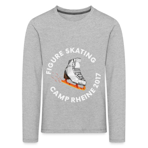 1st International Figure Skating Camp in Rheine - Kinder Premium Langarmshirt