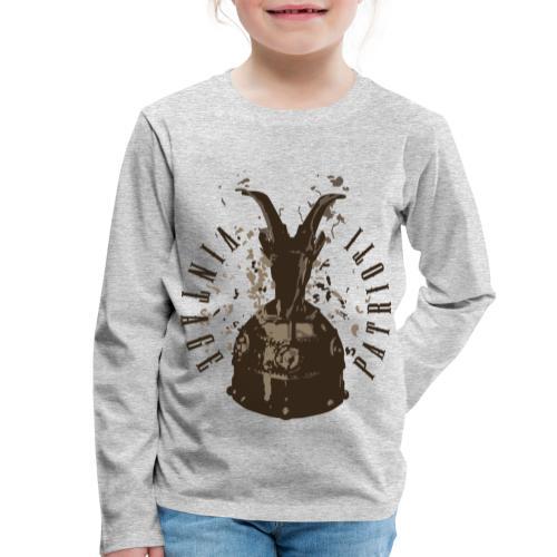 Patrioti Vintage Skenderbeg - Kinder Premium Langarmshirt