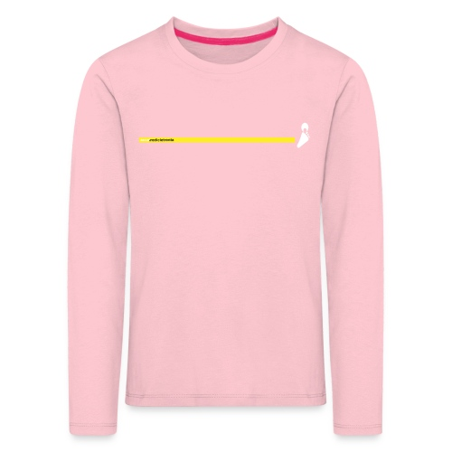Yello line - Maglietta Premium a manica lunga per bambini