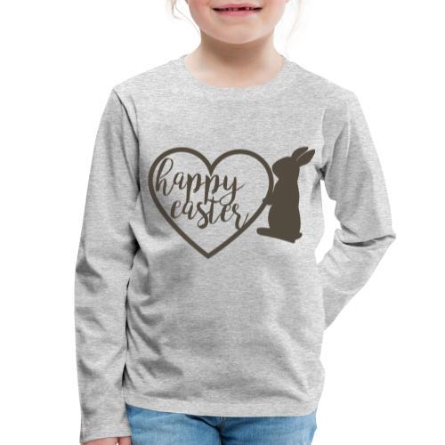 Happy Easter - Kinder Premium Langarmshirt