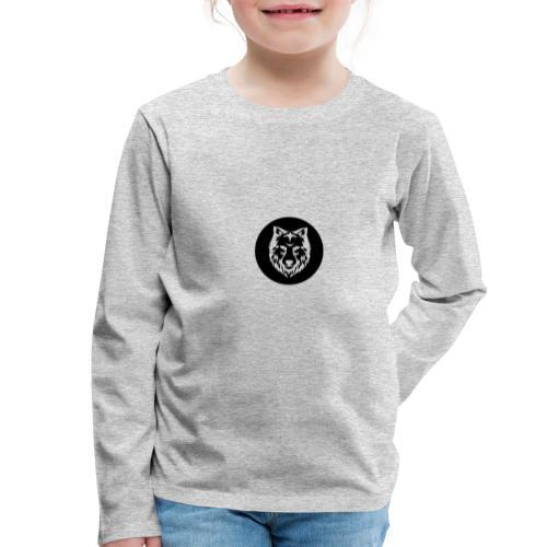 La Tanière des Chiens-Loups - T-shirt manches longues Premium Enfant