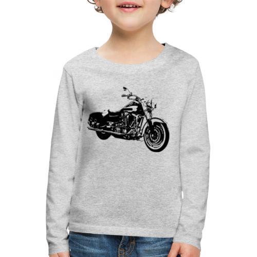 Motorrad - Kinder Premium Langarmshirt