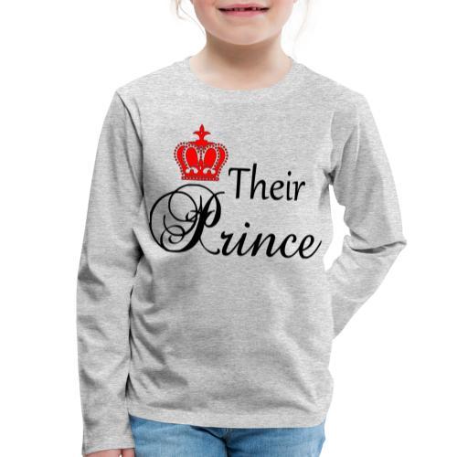 Their Prince - Långärmad premium-T-shirt barn