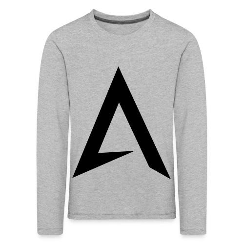 alpharock A logo - Kids' Premium Longsleeve Shirt