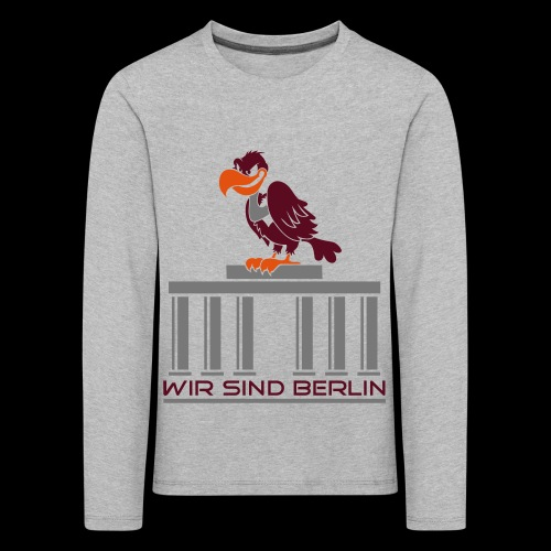 Berlin Geier - Kinder Premium Langarmshirt