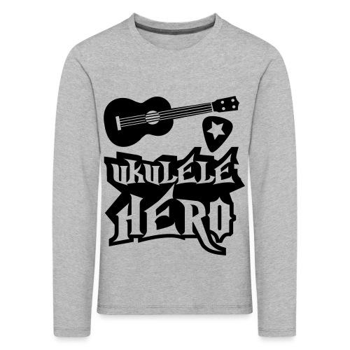 Ukelele Hero - Kids' Premium Longsleeve Shirt