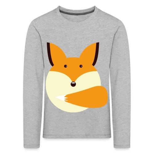 Fuchs Norbi - Kinder Premium Langarmshirt