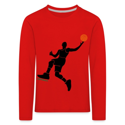 slamdunk_ball - Maglietta Premium a manica lunga per bambini