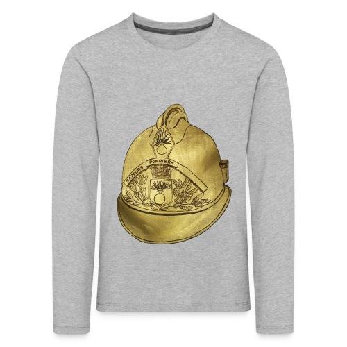Casque pompier - T-shirt manches longues Premium Enfant