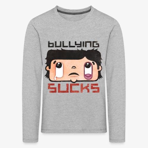 Bullying sucks - Lasten premium pitkähihainen t-paita