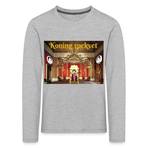 Koning Spekvet - Kinderen Premium shirt met lange mouwen