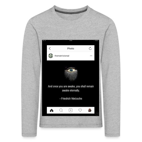 81F94047 B66E 4D6C 81E0 34B662128780 - Kids' Premium Longsleeve Shirt