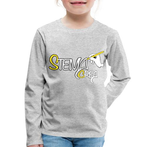 Stema CREA Logo - T-shirt manches longues Premium Enfant