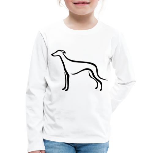 Greyhound - Kinder Premium Langarmshirt