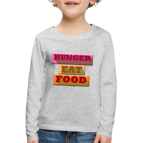 Hunger TShirt - T-shirt manches longues Premium Enfant
