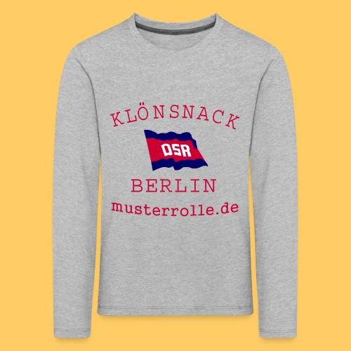 KiB-Logo-gif - Kinder Premium Langarmshirt