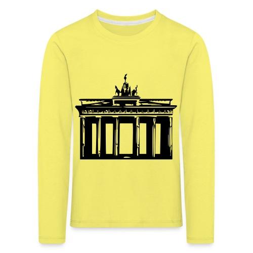 Brandenburger Tor - Kinder Premium Langarmshirt