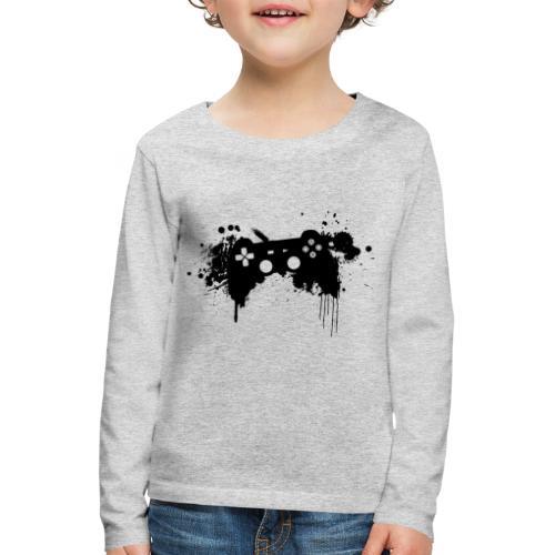 Speel harde controller - Kinderen Premium shirt met lange mouwen